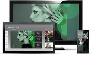 Arriva Xbox Music, per lo streaming su Xbox 360, Windows 8/RT e Windows Phone
