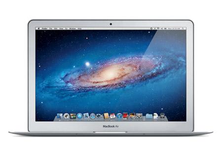 macbookair 13inch pf open