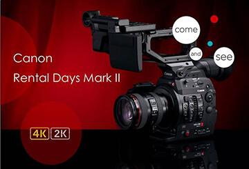Canon ti invita ai Rental Days Mark II