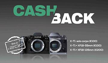 Cash Back Fujifilm XT-1, c'è tempo fino al 31 luglio
