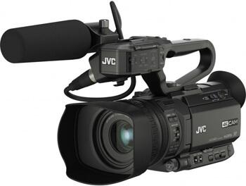 JVC, tris per il video in 4K