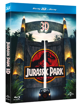 Jurassic Park 3D, ecco il Blu-ray
