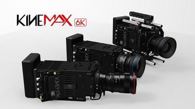 KineMAX 6K e KineMINI 4K, macchine per il cinema dalla Cina