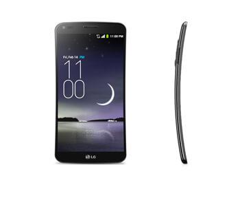 LG G Flex, anche lo smartphone è curvo