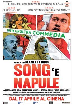 Song 'e Napule, al cinema l'ultimo dei Manetti Bros.