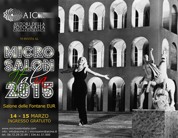 Micro Salon Italia 2015, si parte!