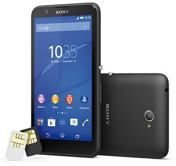 Sony, grande autonomia con Xperia e4 DUAL