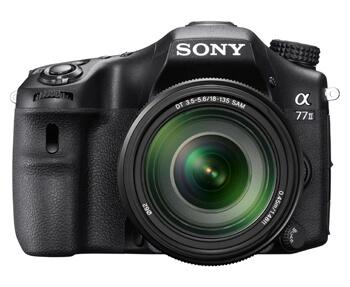Sony Alpha 77 II, fotocamera SLT tuttofare