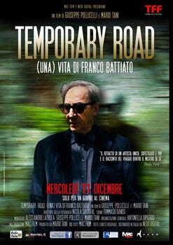 Il film 'Temporary Road. (una) Vita di Franco Battiato' l'11 dicembre al cinema