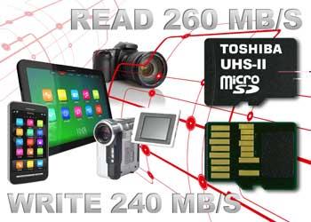 Toshiba, le MicroSD sono pronte per il 4K