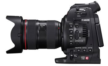 Canon EOS C100, arriva l'AF Dual Pixel