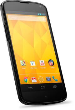 LG, Nexus 4 arriva in Italia