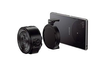 IFA 2013 – Sony Cyber-shot QX10 e QX100, super-ottiche per smartphone
