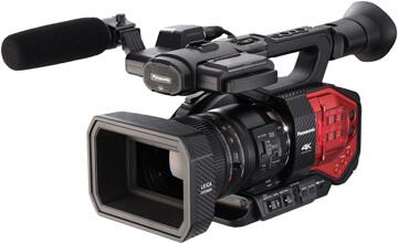 Aperitivo con la Panasonic AG-DVX200