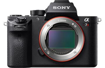 Sony, aggiornamento firmware per Alpha 7R II