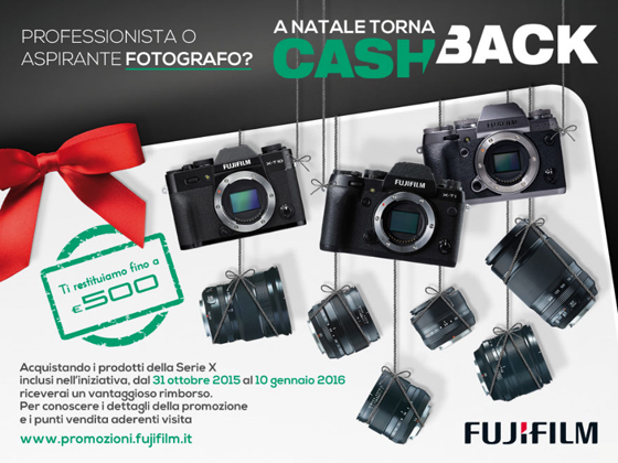 Torna Fujifilm Cash Back