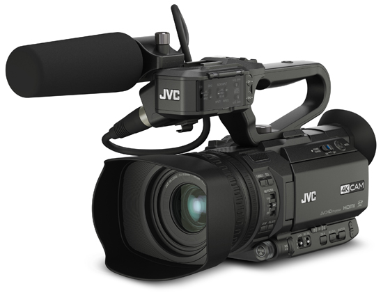 JVC GY-HM170/200, anche slow motion a 120fps