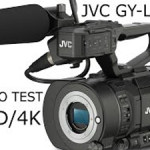 JVC GY-LS300 VIDEO TEST UHD/4K