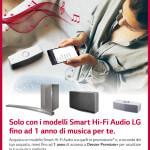 LG regala Deezer Premium+