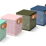 Rockbox Cube, il suono del tessuto