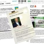 A proposito di Tripadvisor, di false recensioni, e di promozione sul web