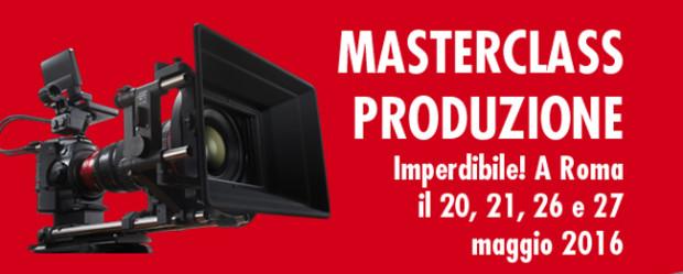 Canon Cinema Eos School: restano pochi posti per la Masterclass di produzione