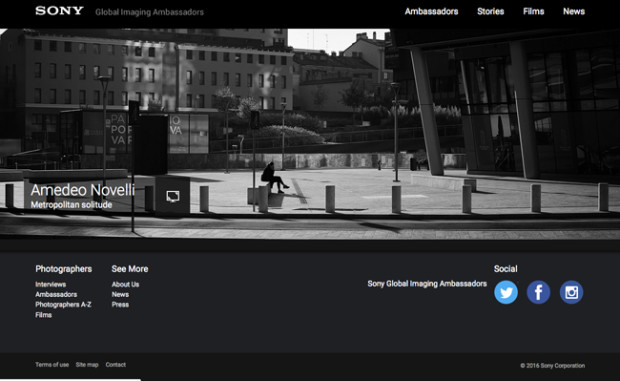Sony Global Imaging Ambassadors: nominati i primi fotografi per l'Italia