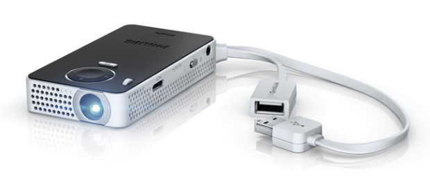 Philips PicoPix, la videoproiezione tascabile