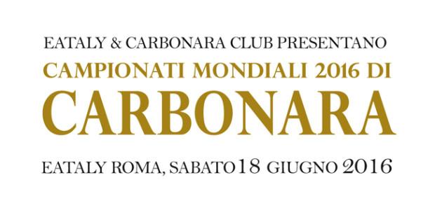 Mondiali di Carbonara 2016, appuntamento a sabato!