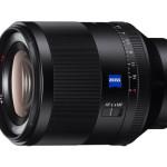 Sony E 50mm F1.4 ZA, nuovo obiettivo Prime Full-Frame