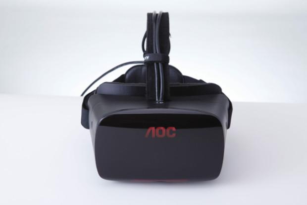 AOC, ecco il visore HMD (head-mounted display) per la realtà virtuale