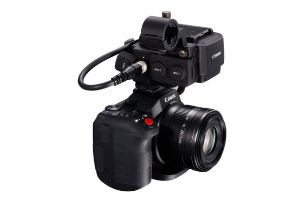 Canon XC15, arriva l'audio professionale