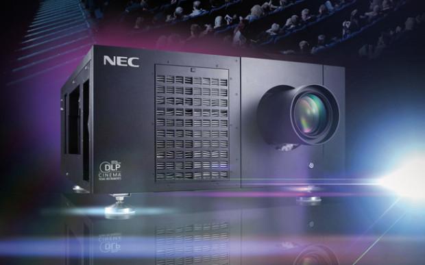 NEC, 10.000 proiettori D-Cine, 1.000 laser