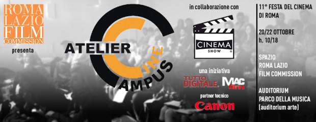 Cinecampus Atelier + Cinema Show = Imperdibile!