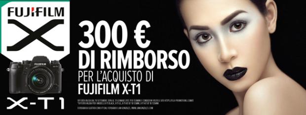 Fujifilm X-T1, risparmia 300 euro