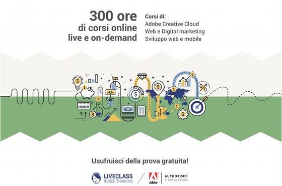 LiveClass, formazione live e on demand