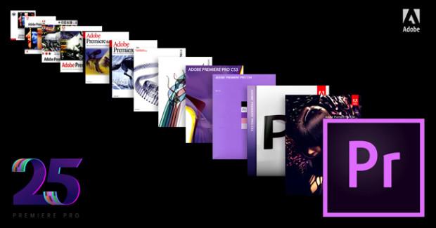 Adobe, Premiere Pro compie 25 anni