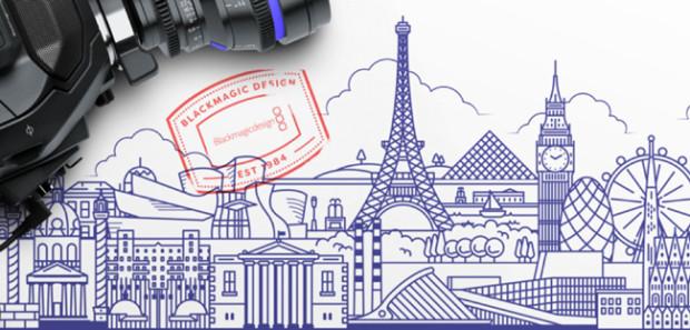 Blackmagic Design European Tour 2017
