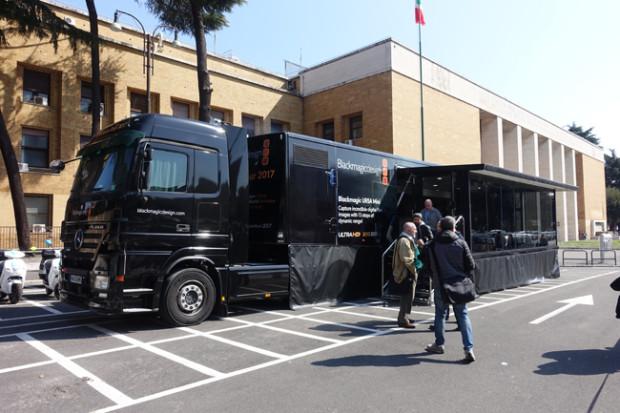 Blackmagic, la nuova Ursa Mini Pro in viaggio