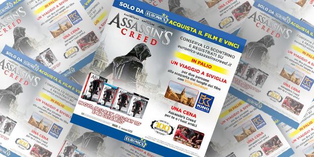 Vinci fantastici premi con Euronics eAssassin's Creed