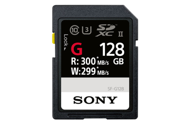 Sony SD serie SF-G, super speed