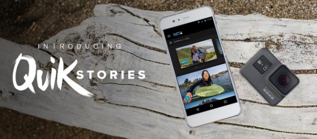 GoPro QuikStories, storytelling facile facile