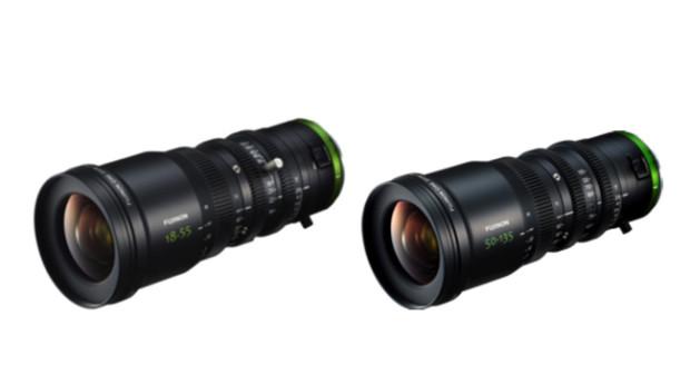 Fujifilm, ecco i Fujinon MK18-55mm T2.9 e MK50-135mm T2.9