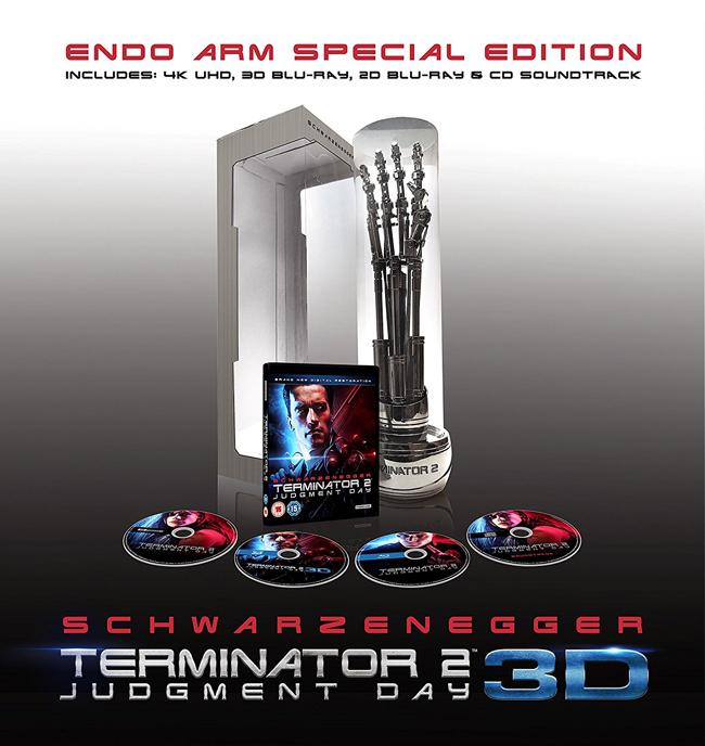 Terminator 2 3D 4K BD Endo Arm