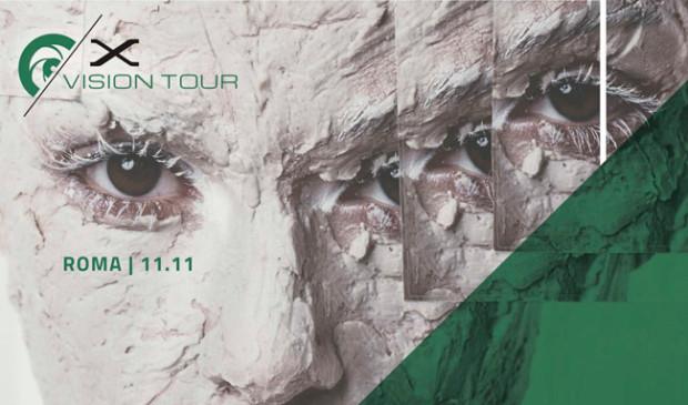 X-Vision Tour, ultima tappa a Roma l'11 novembre