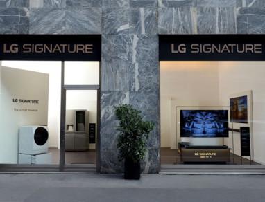 LG Signature Store Milano