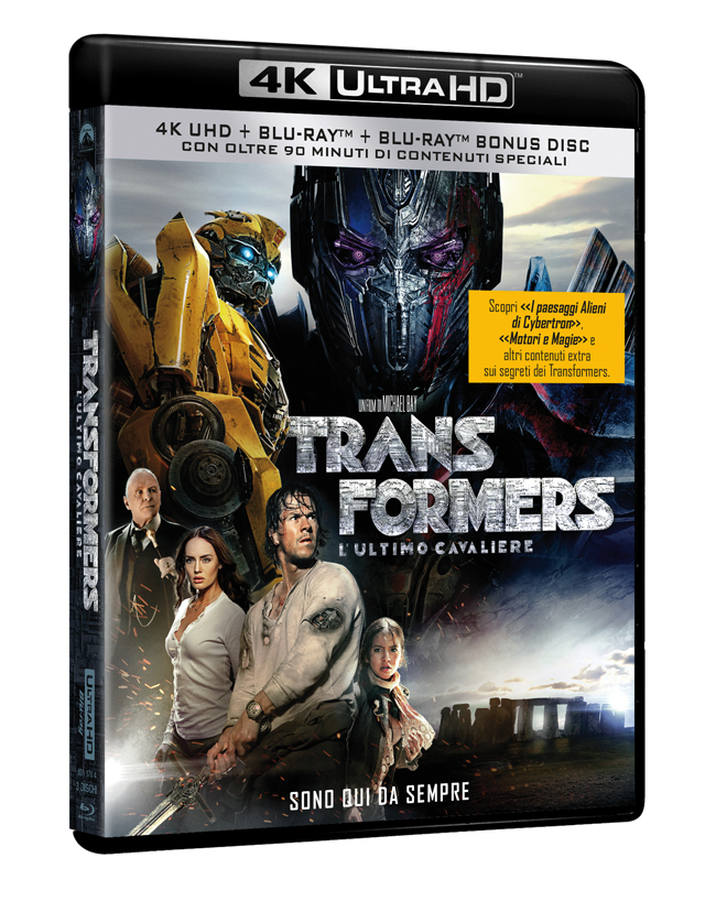 Transformers Ultimo Cavaliere 4K