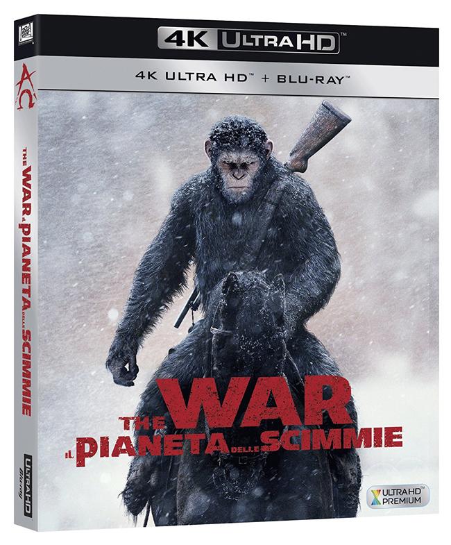 The War - Il Pianeta delle Scimmie BD Ultra HD 4K