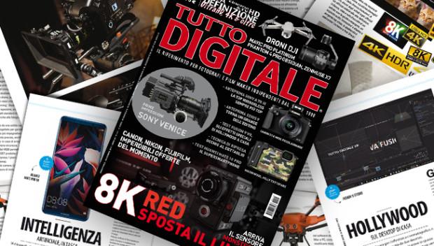Tutto Digitale 117, fra droni e 8K