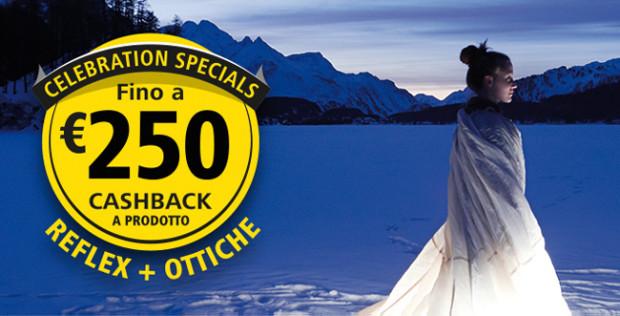 Nikon Cashback  fino a 250 euro